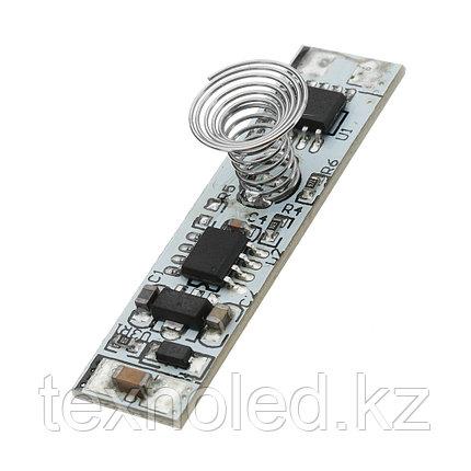 Сенсорный выключатель с диммером на прикосновение для алюминиевых профилей, фото 2