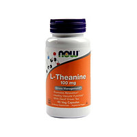 Теанин Now Foods - L-Theanine, 100 мг, 90 капсул