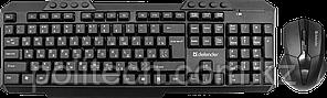 Комплект беспроводной клавиатура+мышь Defender Jakarta C-805 RU черный