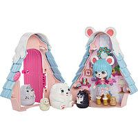 Enchantimals Игровой набор Секретные лучшие друзья Лыжный домик Полярного мишки Паубри