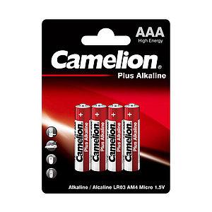 Батарейка CAMELION Plus Alkaline LR03-BP4 4 шт. в блистере