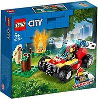 Lego 60247 Город Лесные пожарные