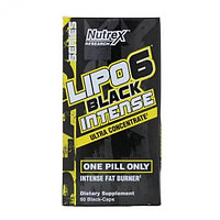 Lipo-6 Black Intense Ultra Concetrate, 60 caps