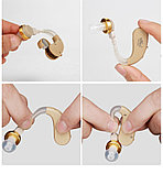 Заушный слуховой аппарат, усилитель звука JH 113, фото 7