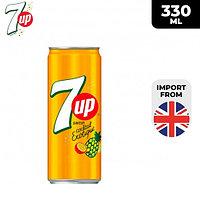 Газированный напиток 7UP Coctail Exotique 330 ml (24шт - упак)
