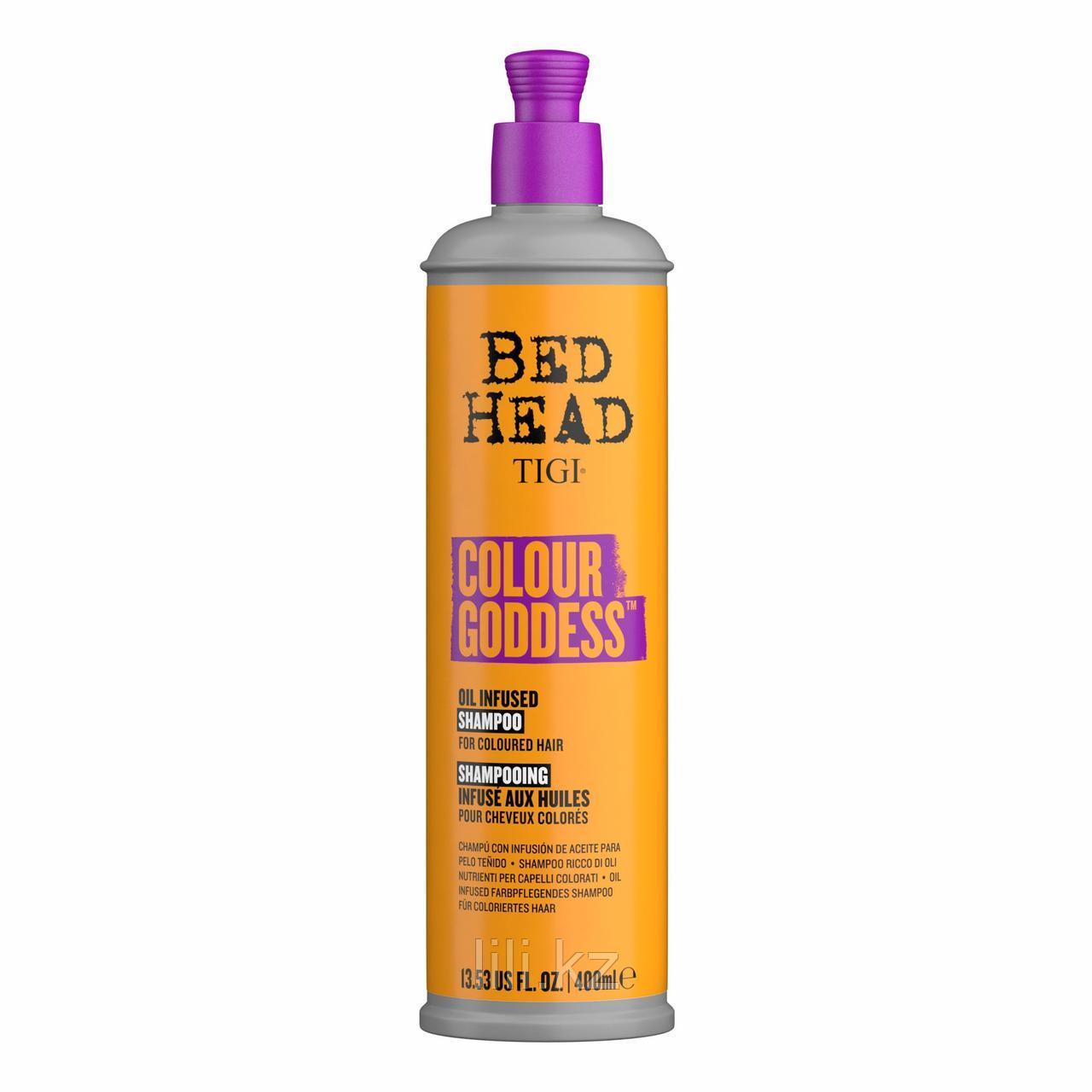 Шампунь для окрашенных волос - Tigi Bed Head Colour Goddess 400 мл.
