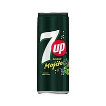 Газированный напиток 7UP Mojito 330 ml (24шт - упак)
