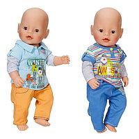 Игрушка Zapf Creation BABY born Одежда Стильная для мальчика, 822-197