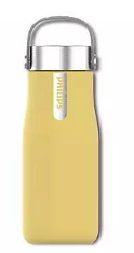 Бутылка с УФ-стерилизатором Philips AWP2788YL/10 (600 мл) желтый