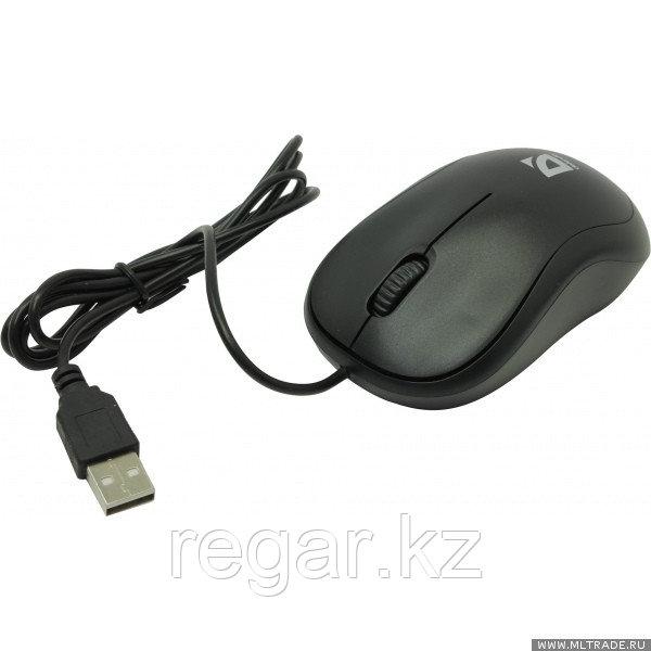 Мышь проводная Defender Patch MS-759 черный,3 кнопки,1000 dpi
