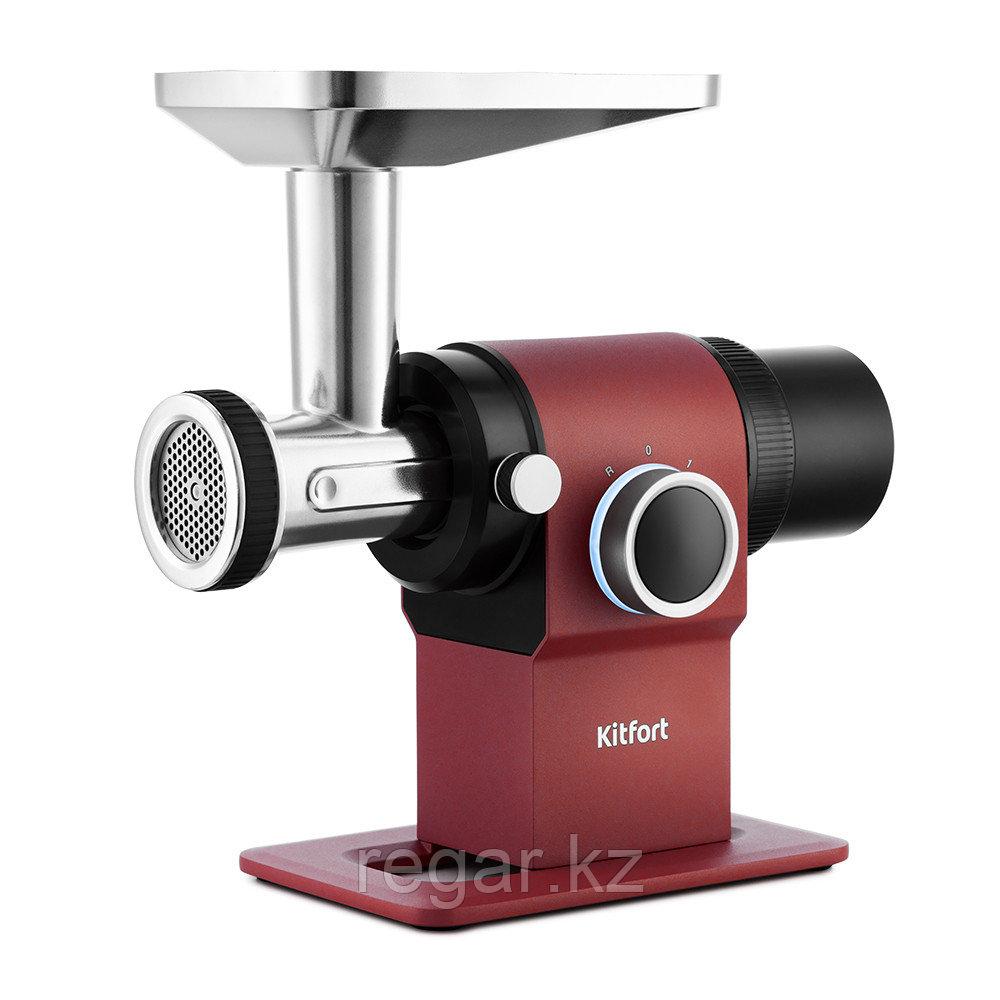 Мясорубка Kitfort KT-2110-1 красный