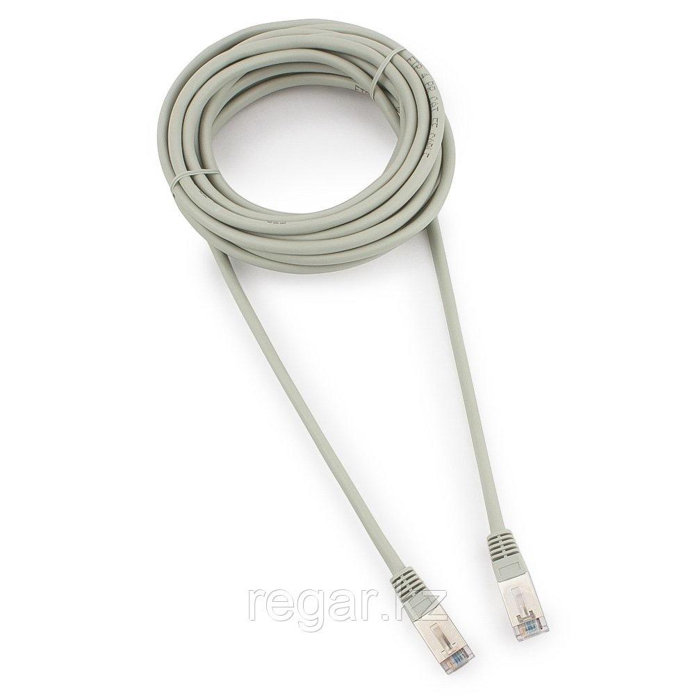 Патч-корд FTP Cablexpert PP22-5m кат.5e, 5м, литой, многожильный (серый)