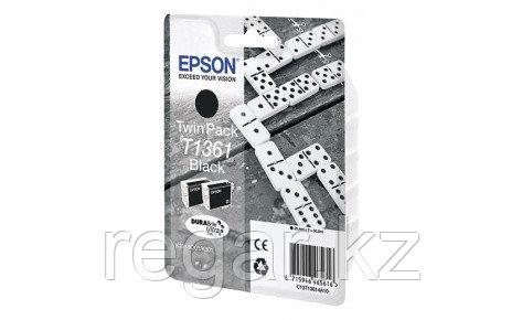 Картридж Epson C13T13614A10 K301/K201/K101 черный, набор 2 шт.