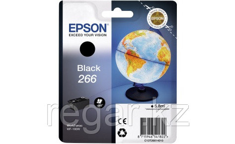 Картридж Epson C13T26614010 Black Ink for WorkForce WF-100W
