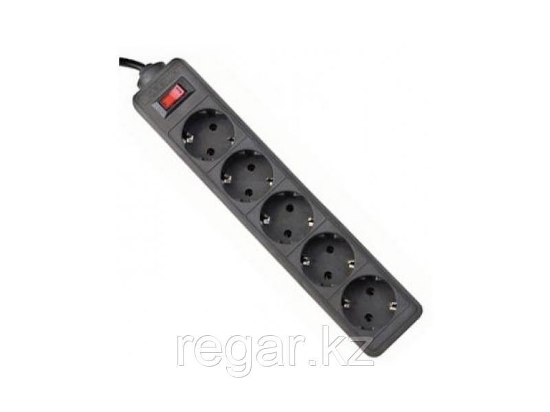 Сетевой фильтр Defender ES 1.8 - 1,8 М, 5 розеток черный