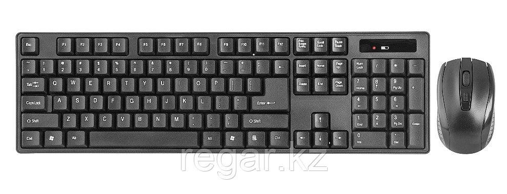 Комплект беспроводной клавиатура+мышь Defender Berkeley C-915 RU,черный