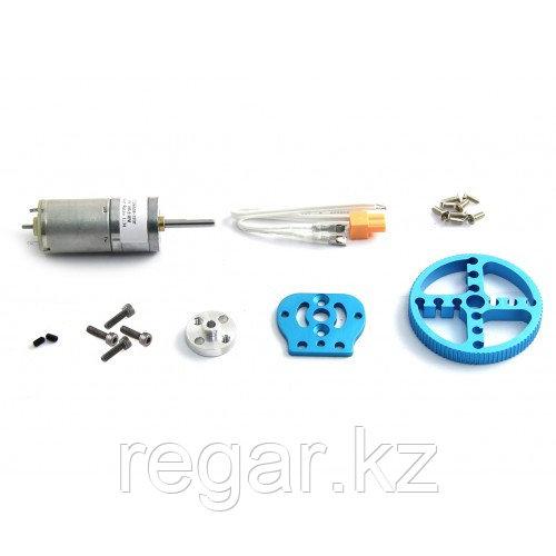 Комплектующий набор Makeblock мотор в наборе с колесиком 25мм 95010