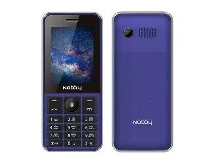 Мобильный телефон Nobby 240 LTE сине-серый