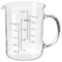 Кувшин мерный ВАРДАГЕН стекло 0.5 л. ИКЕА, IKEA