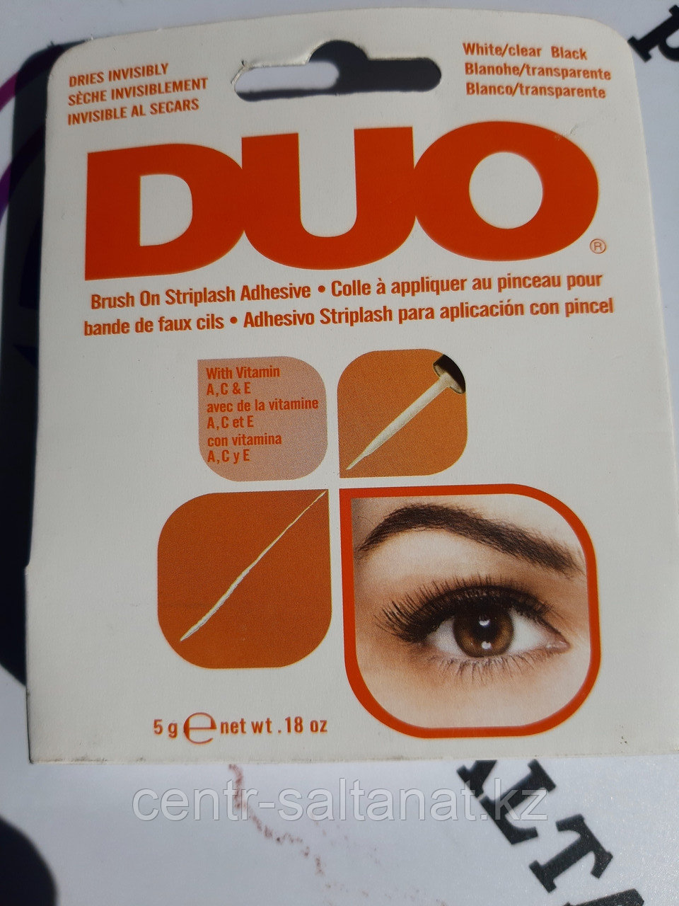 Клей для ресниц черный DUO 7 г