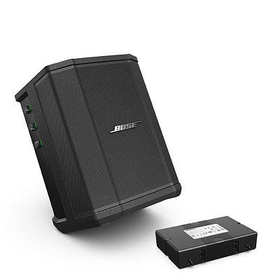 Ультра-портативная мультипозиционная акустическая система PA Bose S1 Pro, черный