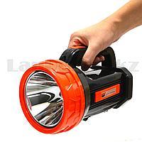 Ручной аккумуляторный фонарь прожектор светодиодный LED LD 703 2 режима