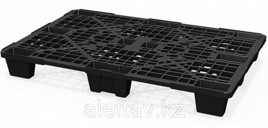 Полимерный поддон на ножках 1200х800х140мм черного цвета, фото 2