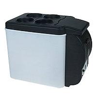 Холодильник автомобильный Перекуси в дороге 6 литров, 12V,с функцией подогрева, черно-белый 726877