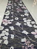 Коврик, ковровая дорожка метражом, ковер Ширина 80 см Лилия Сакура