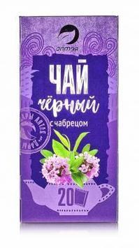 """Чай черный с чабрецом """"Алтэя"""" 20 ф/п по 1,5 гр"""