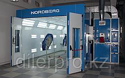 NORDBERG LUX  Окрасочно-сушильная камера NORDBERG LUX (горелка опционально)