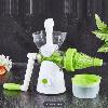 Соковыжималка ручная для овощей и фруктов шнековая