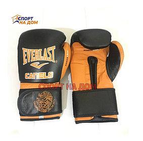Боксерские перчатки EVERLAST Canelo кожа 12,14,16OZ