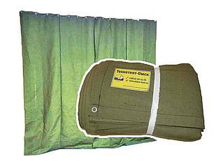 Штора/завеса из водоотталкивающего брезента для утепления проемов ворот гаража 3,4х5,2