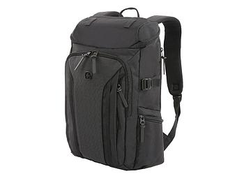 Рюкзак WENGER 15'', чёрный, полиэстер 900D/ М2 добби, 29х15х47 см, 20 л