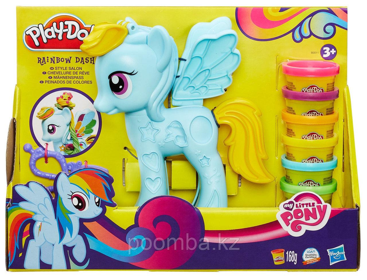 Игровой набор Hasbro Play-Doh Стильный салон Рэйнбоу Дэш