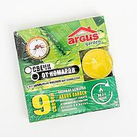 Свечи от комаров 'Argus', с натуральным маслом цитронеллы, 9 штук