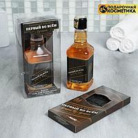 Набор 'Первый во всем' гель для душа 250 мл аромат мужского парфюма, мыло-шоколад