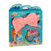 Набор для веселья в ванной HAPPY DREAMS, нежно-розовый(полоска)