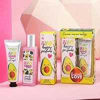 Набор парфюм 30 мл и крем для рук 30 мл Avocado LOVE
