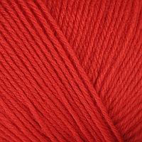 Пряжа 'Детский каприз' 50мериносовая шерсть, 50 фибра 225м/50гр (88-Красный мак) (комплект из 5 шт.)