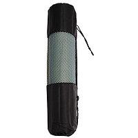 Чехол для йога-коврика, 68 x 22 см (для толщины до 6 мм), цвет чёрный