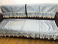 Дивандек велюр 311 с воланами, фото 2