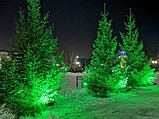 Прожектор светодиодный СДО 50Вт 6500К IP65 зеленый свет серый корпус Фарлайт, фото 2