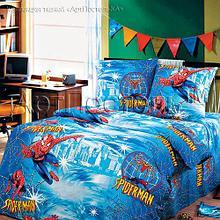 """Постельное бельё """"Спайдермен"""", р-р 1,5 спальный"""