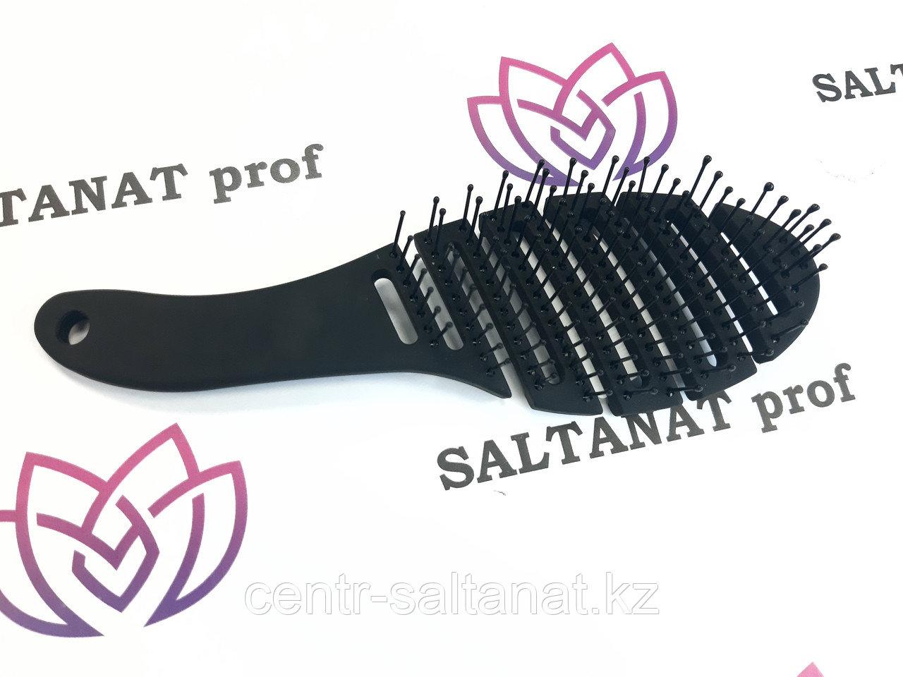 Расческа щетка каучук для укладки волос