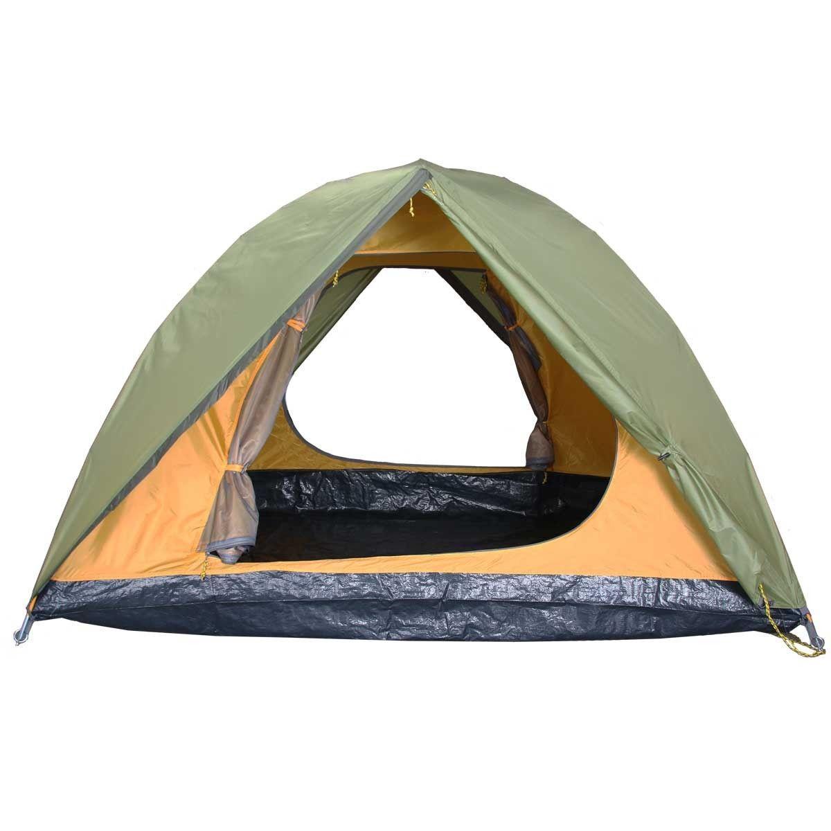 Палатка BREEZE-3 Helios зеленый HS-2370-3 - фото 3
