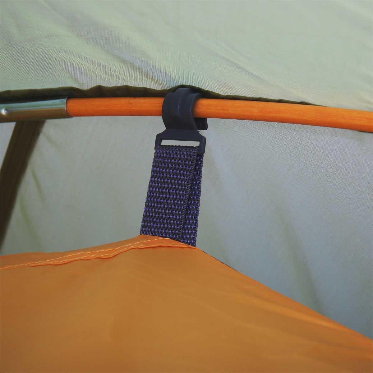 Палатка BREEZE-3 Helios зеленый HS-2370-3 - фото 8