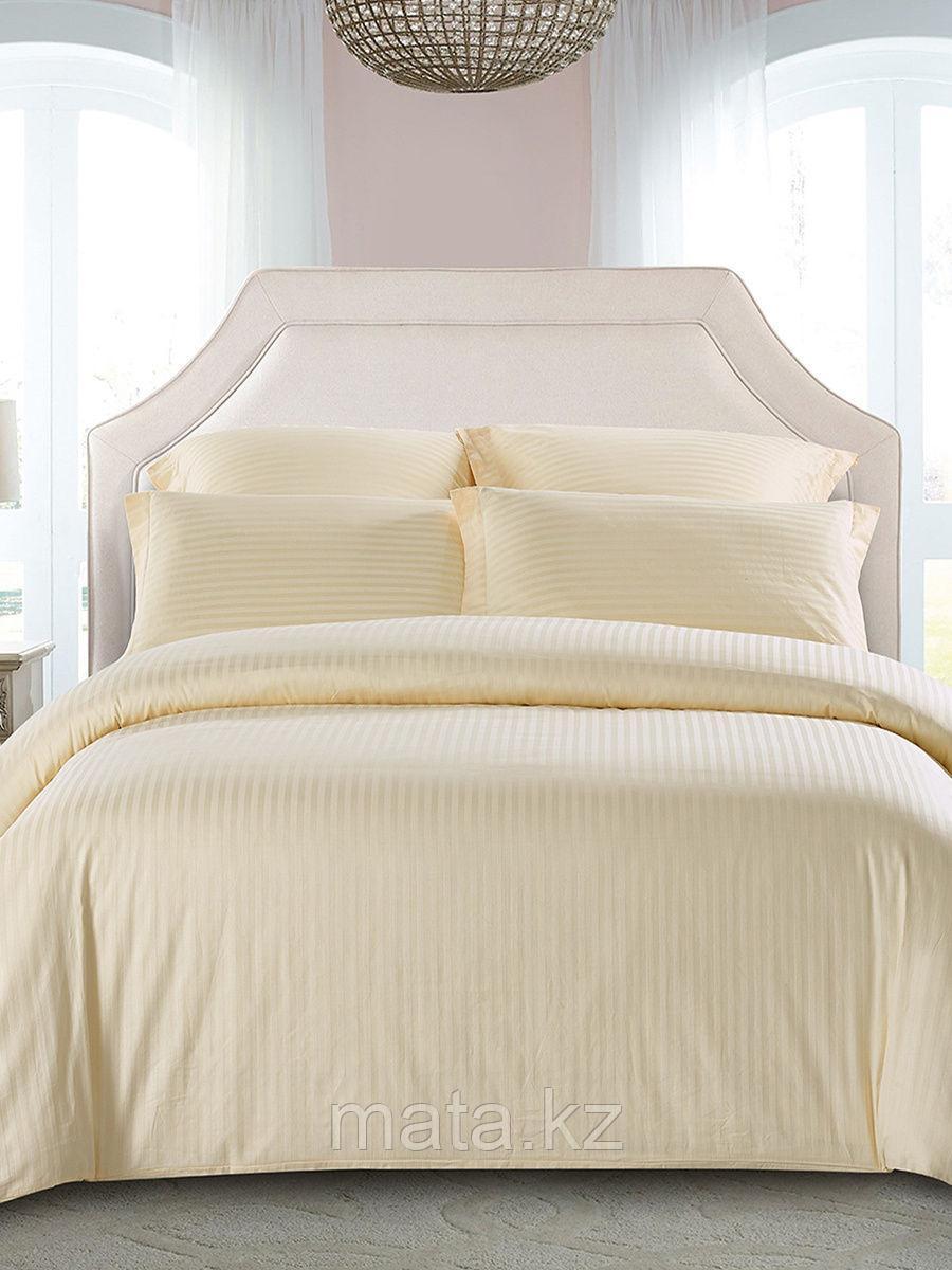 Комплект постельного белья Турция страйп-сатин 1,5