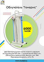 Облучатель бактерицидный для дезинфекции воздуха переносной ОБНП 2*15 с лампами